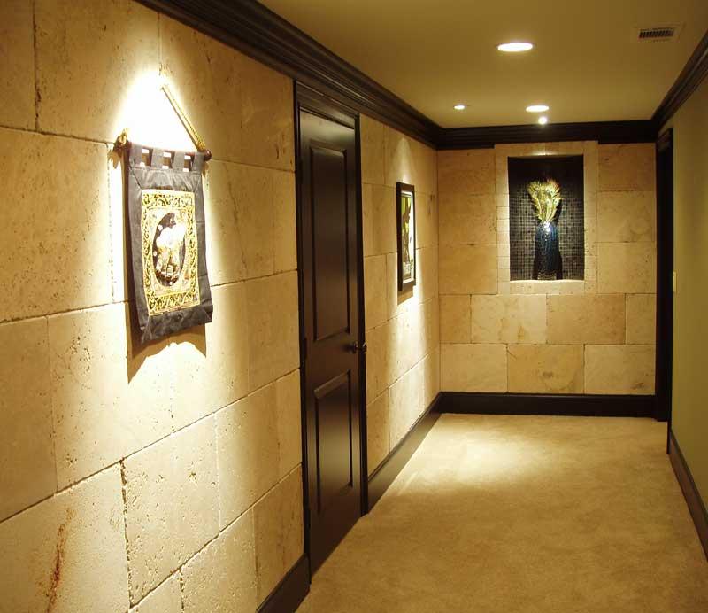 for Decoracion de pasillos rusticos