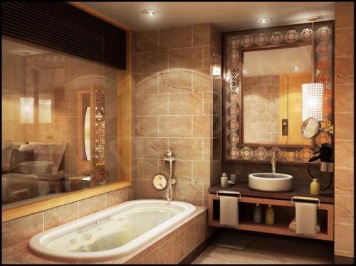 اضاء الحمام