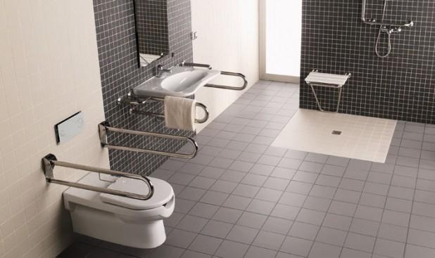 حمام للاحتياجات الخاصه